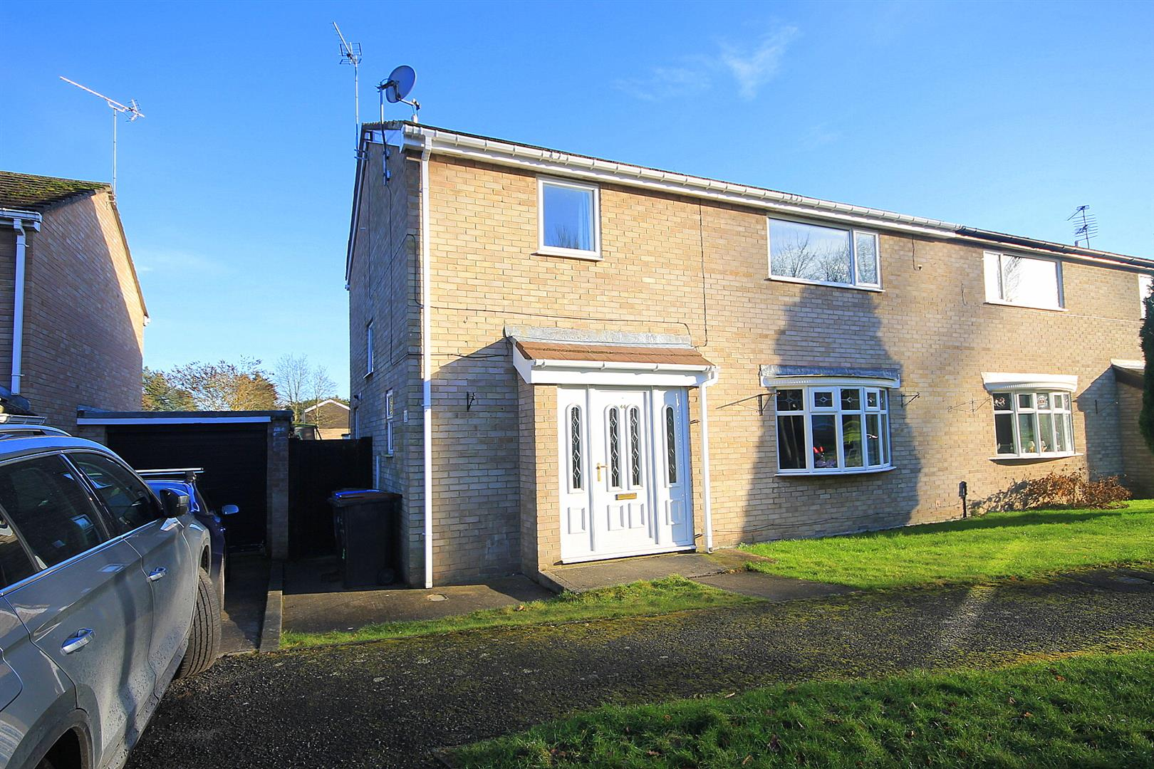4 Bedrooms Semi Detached House for sale in Beech Close, Brasside, Durham